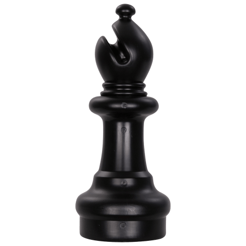 MegaChess 10 Inch Dark Plastic Bishop Giant Chess Piece |  | MegaChess.com