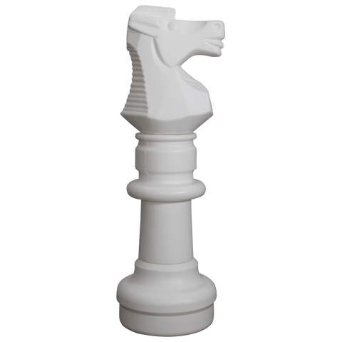 MegaChess 30 Inch White Plastic Knight Giant Chess Piece |  | MegaChess.com