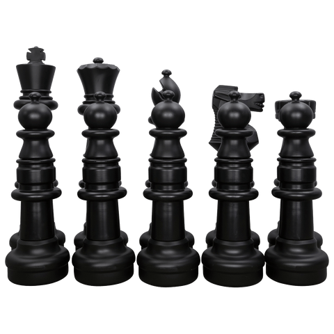 "MegaChess 37"" Chess Set - Black Side Only 