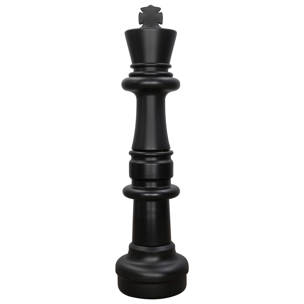MegaChess 37 Inch Dark Plastic King Giant Chess Piece |  | MegaChess.com