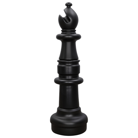 MegaChess 33 Inch Dark Plastic Bishop Giant Chess Piece |  | MegaChess.com