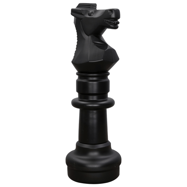 MegaChess 30 Inch Dark Plastic Knight Giant Chess Piece |  | MegaChess.com