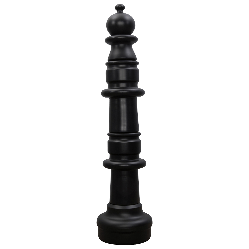 MegaChess 40 Inch Dark Plastic Pawn Giant Chess Piece |  | MegaChess.com