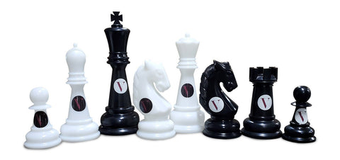 Personalized MegaChess 38 Inch Perfect Giant Chess Set |  | MegaChess.com