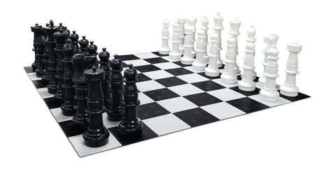 MegaChess 37 Inch Plastic Giant Chess Set with Plastic Board | Default Title | MegaChess.com