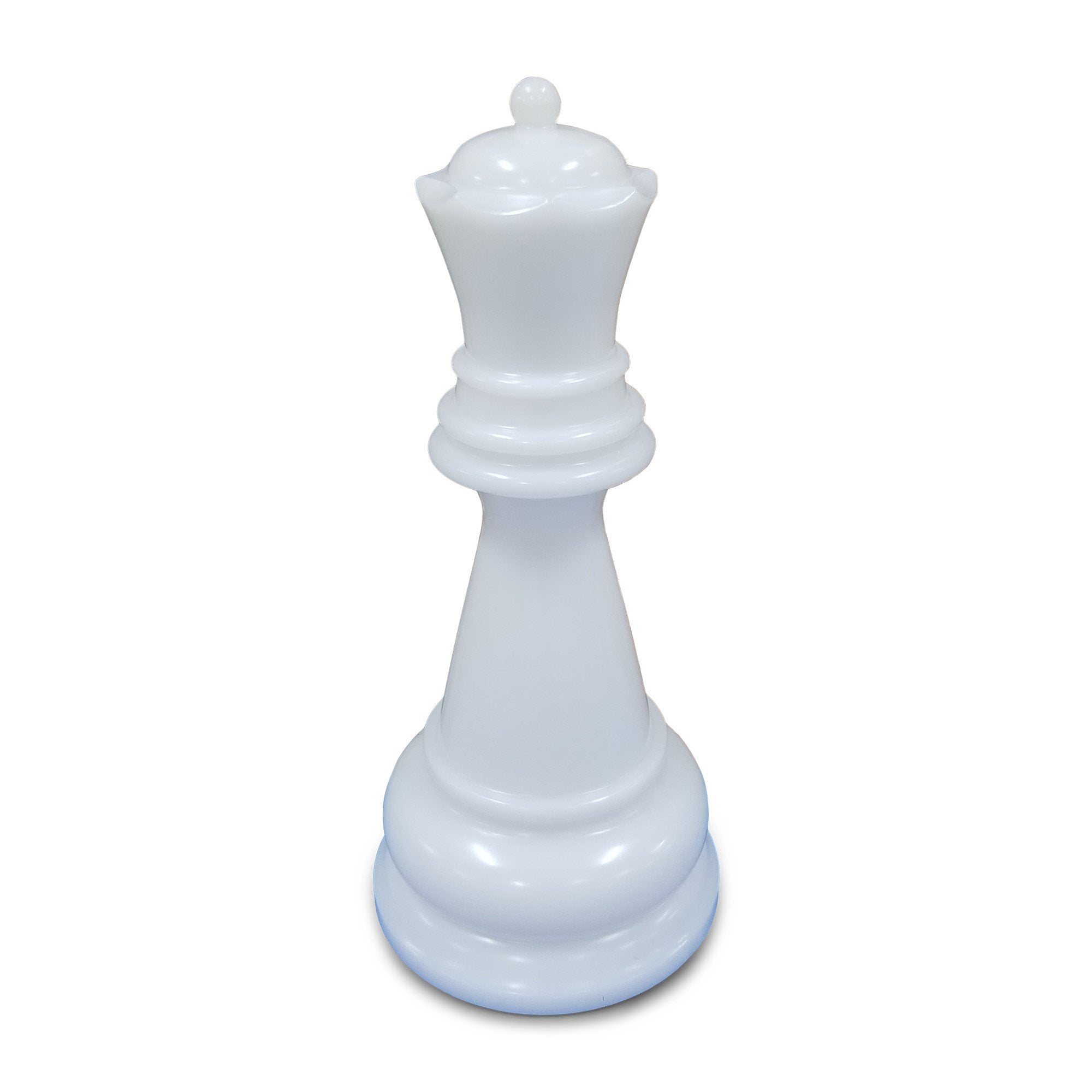 MegaChess 36 Inch White Perfect Queen Giant Chess Piece | Default Title | MegaChess.com