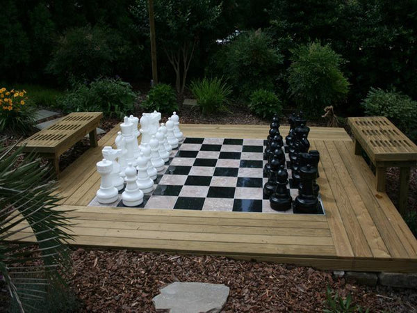The Original MegaChess 25 Inch Plastic Giant Chess Set |  | MegaChess.com