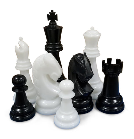 The MegaChess 48 Inch Perfect Giant Chess Set
