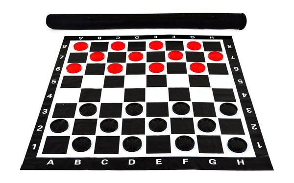 MegaChess 3 Inch Plastic Giant Checkers