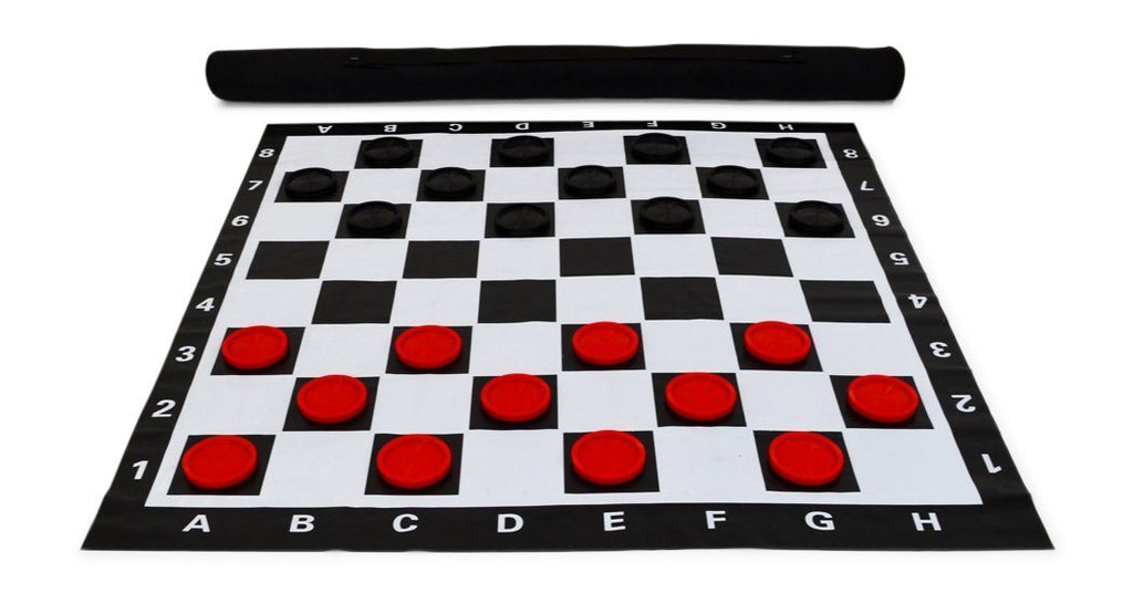 MegaChess 3 Inch Plastic Giant Checkers |  | MegaChess.com