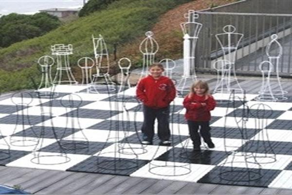 MegaChess 72 Inch Topiary Wire Frame Giant Chess Set |  | MegaChess.com