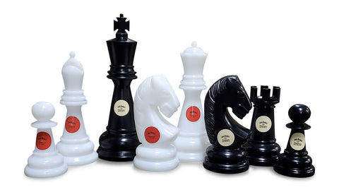 Personalized MegaChess 48 Inch Perfect Giant Chess Set |  | MegaChess.com