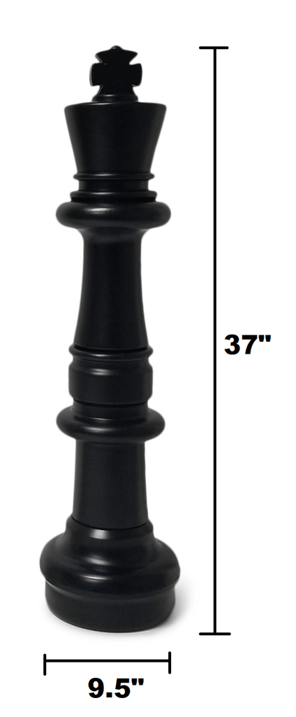 The Original MegaChess 37 Inch Plastic Giant Chess Set |  | MegaChess.com