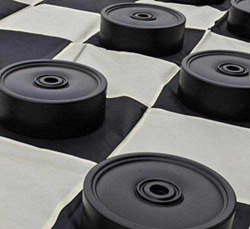 MegaChess 10 Inch Plastic Giant Checkers |  | MegaChess.com