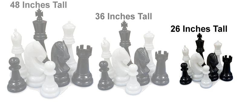 The MegaChess 26 Inch Perfect Giant Chess Set |  | MegaChess.com