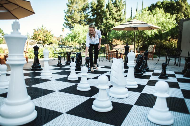 MegaChess 36 Inch Fiberglass Giant Chess Set |  | MegaChess.com
