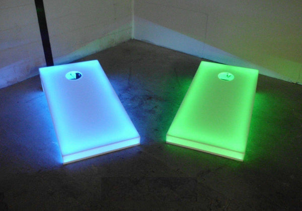 Light Up 4x2 Cornhole Regulation Size - Waterproof Mountable |  | MegaChess.com