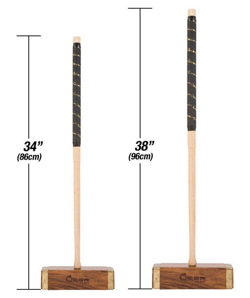 Uber Games Croquet Mallet - Championship Hardwood - 38 Inch |  | MegaChess.com