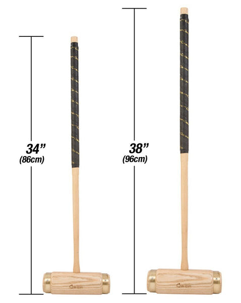 Uber Games Croquet Mallet - Executive Hardwood - 34 Inch |  | MegaChess.com