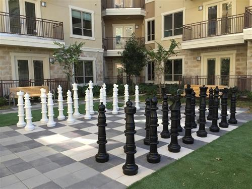 MegaChess 49 Inch Plastic Giant Chess Set | The Original Giant Chess Set | No Parts Replacement Plan | MegaChess.com
