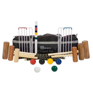 Family Croquet Set - 6 Player 9 Hoop Version