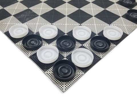 The Perfect Giant Checker Set | 14 Inches Wide | MegaChess | Default Title | MegaChess.com