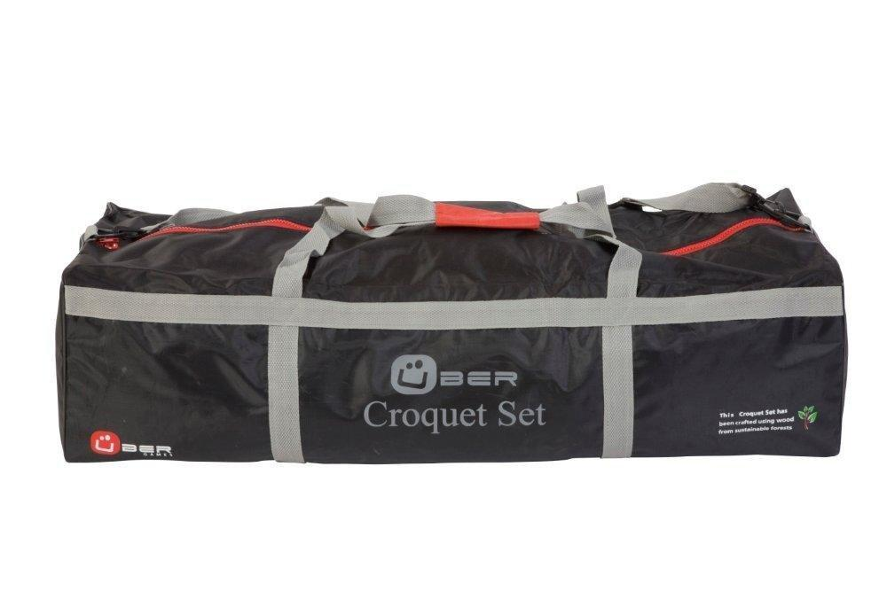 Uber Games Carrying Bag for 9 Wicket Croquet Set - Nylon - 4 Player | Default Title | MegaChess.com