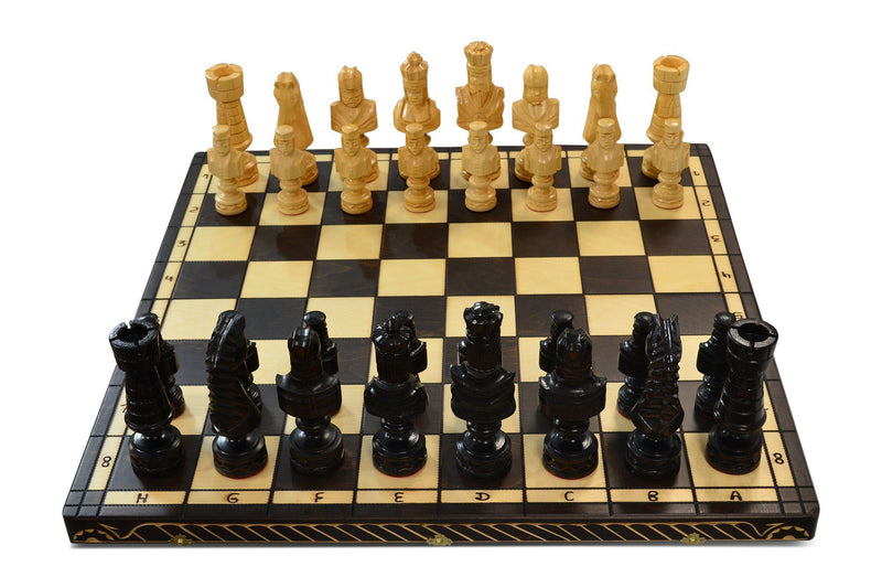 MegaChess 8 Inch Polish Birch Giant Chess Set |  | MegaChess.com