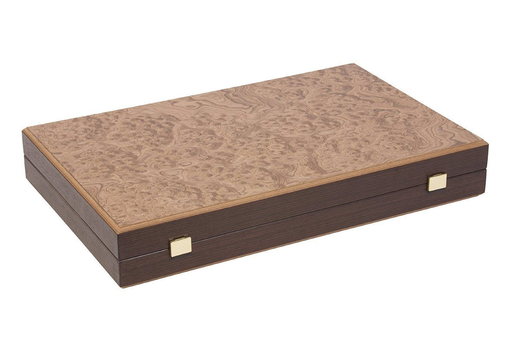 Uber Games Walnut Burl Backgammon Set |  | MegaChess.com