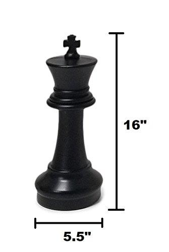 MegaChess 16 Inch Plastic Giant Chess Set with Plastic Board |  | MegaChess.com