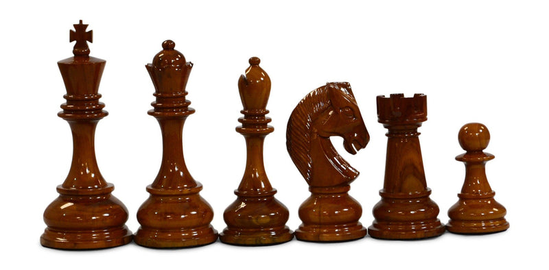 MegaChess 8 Inch Teak Giant Chess Set |  | MegaChess.com