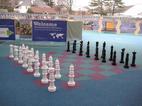MegaChess Custom 37 Inch Plastic Giant Chess Set |  | MegaChess.com
