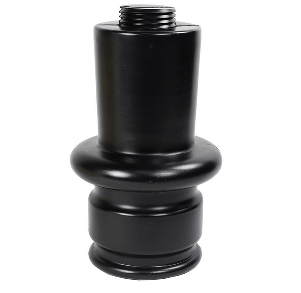 MegaChess 12 Inch Dark Plastic Extension To Lengthen Giant Chess Pieces |  | MegaChess.com