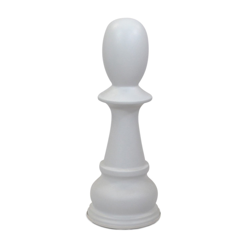 MegaChess 36 Inch White Fiberglass Pawn Giant Chess Piece |  | MegaChess.com