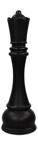 MegaChess 61 Inch Black Fiberglass Queen Giant Chess Piece |  | MegaChess.com