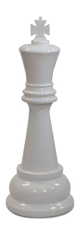 MegaChess 36 Inch White Fiberglass King Giant Chess Piece |  | MegaChess.com