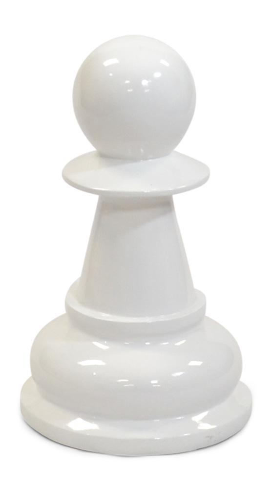 MegaChess 16 Inch White Fiberglass Pawn Giant Chess Piece |  | MegaChess.com