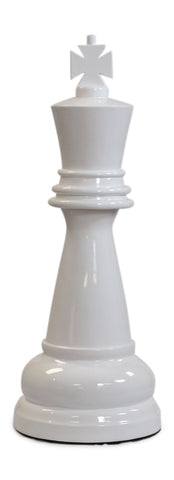 MegaChess 24 Inch White Fiberglass King Giant Chess Piece |  | MegaChess.com