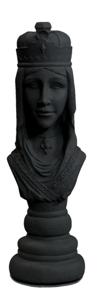 MegaChess 22 Inch Dark Fiberglass Medieval Queen Giant Chess Piece |  | MegaChess.com