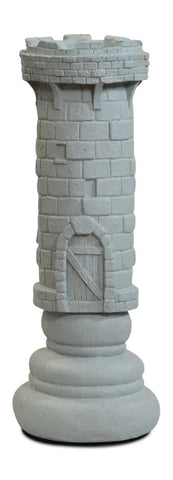 MegaChess 14 Inch Light Fiberglass Medieval Rook Giant Chess Piece |  | MegaChess.com