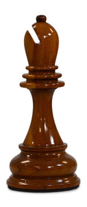 MegaChess 12 Inch Light Teak Bishop Giant Chess Piece |  | MegaChess.com