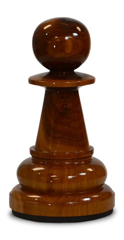 MegaChess 12 Inch Light Teak Pawn Giant Chess Piece |  | MegaChess.com