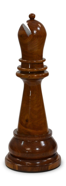 MegaChess 27 Inch Light Teak Bishop Giant Chess Piece |  | MegaChess.com