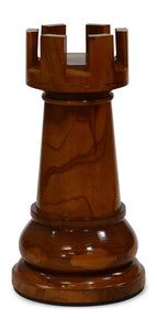 MegaChess 23 Inch Light Teak Rook Giant Chess Piece |  | MegaChess.com