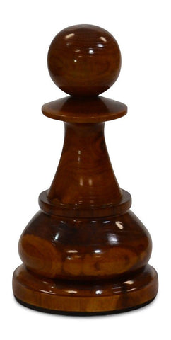 MegaChess 18 Inch Light Teak Pawn Giant Chess Piece |  | MegaChess.com