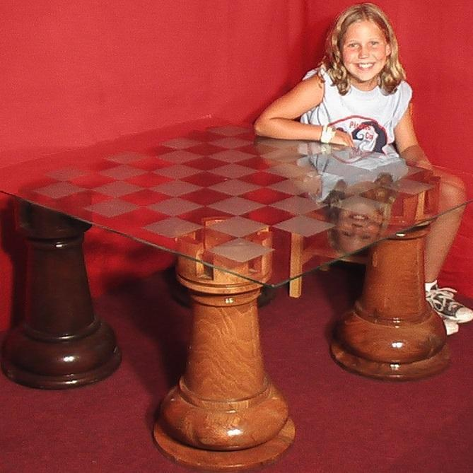 Giant Chess Boards with 4 Inch Squares