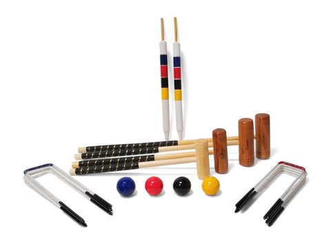 Family Croquet Set - 4 Player 9 Hoop Version |  | MegaChess.com