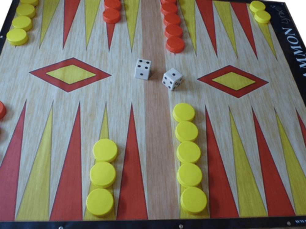 Giant BackGammon - 8 Foot By 7 Foot Board |  | MegaChess.com