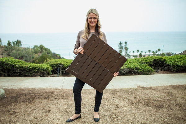 "MegaChess Safety Edge Ramps for New Wood Chess Board with 24"" Squares 