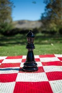 MegaChess 18 Inch Black Fiberglass Bishop Giant Chess Piece |  | MegaChess.com